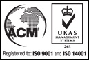 Registered to ISO 9001 & ISO 14001